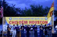 Phong Trào Hưng Ca VN & Đêm Văn Nghệ Đấu Tranh Tại Chợ Đêm Houston, 08.04.2018