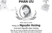 Phân Ưu cùng Gia Đình HC Cố Vấn Nguyễn Hữu Nghĩa
